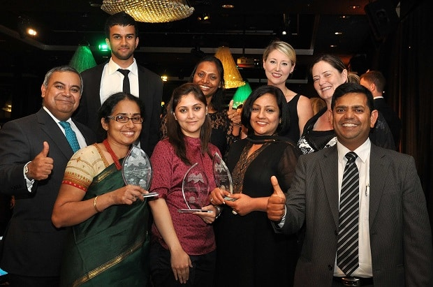 Premier's Multicultural Media Awards 2014 Indian Link team
