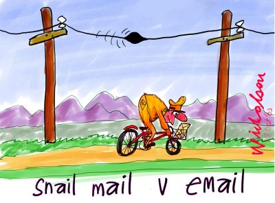 snail mail vs email indian link indian link