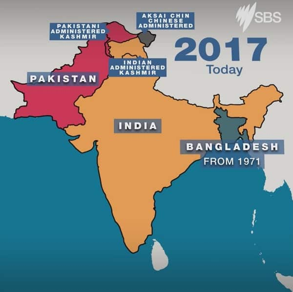 SBS map.Indian Link