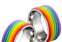 rainbow rings.Indian Link