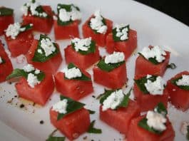 Watermelon and Feta.Indian Link