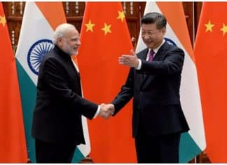 Modi and Jinping.Indian Link
