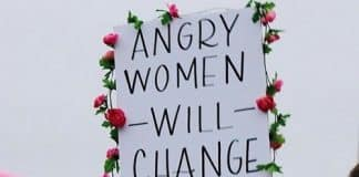 Angry Woman.Indian Link