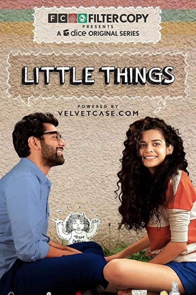 "Watching favourites: A poster of a Netflix show called - ""Little Things"""