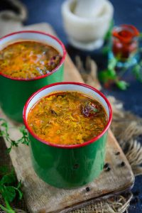 Pepper rasam soup