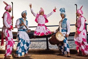 Bhangra dancers- Punjab