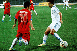 Soccer players- Mizoram