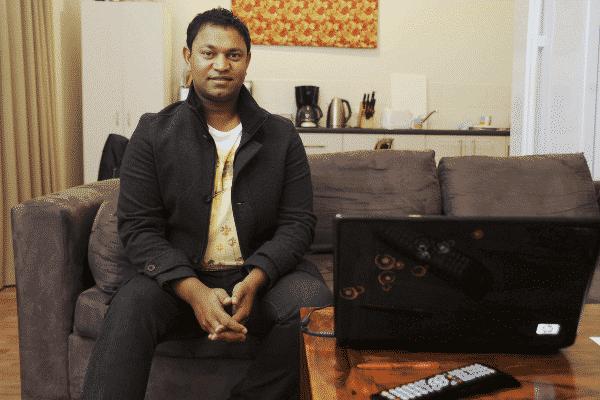 The real Saroo Brierley.  - lion movie - Dev Patel