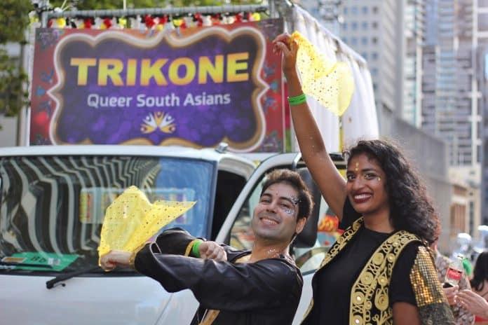Trikone Mardi Gras.Indian Link