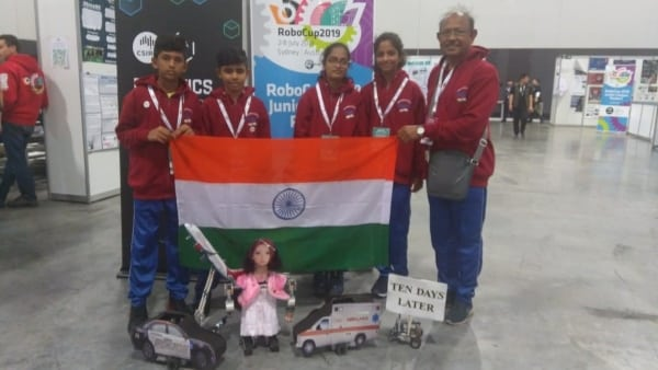 Robotics.Indian Link