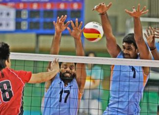 Volleyball. Indian Link2