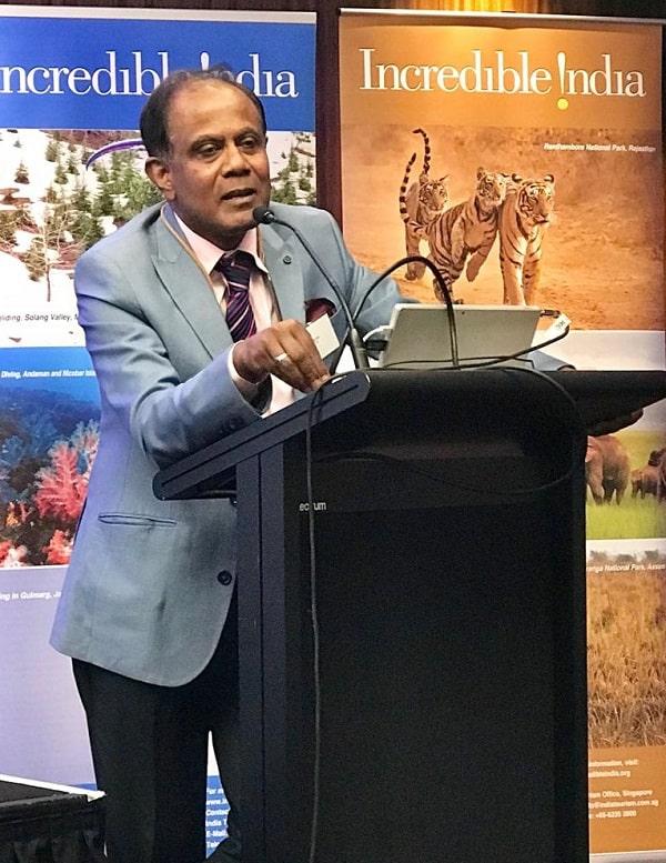Sandip Hor at AITTCC event
