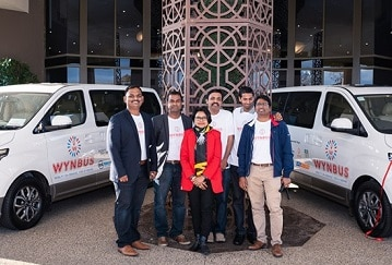 The core team at WYNBUS