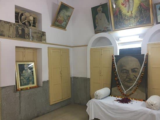 Gandhiji's room at Pracheen