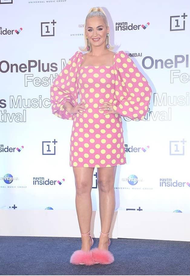 International pop sensation Katy Perry