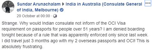 Sundar Arunachalam's post to Indian in Australia