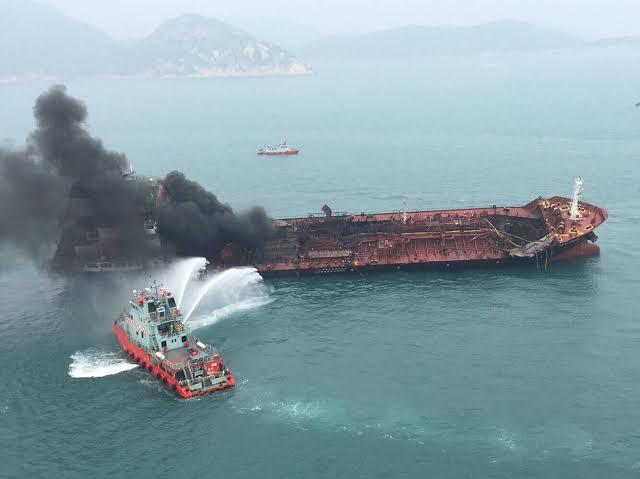 Broken tanker near Goa has spilled over 2,500-ton cargo of naphtha gas