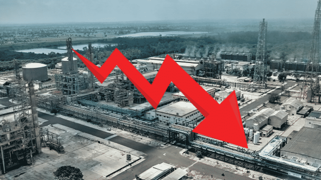 The Index of Industrial Production (IIP) declined (-)4.3 per cent in September 2019