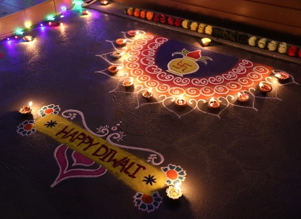 Happy Diwali Rangoli