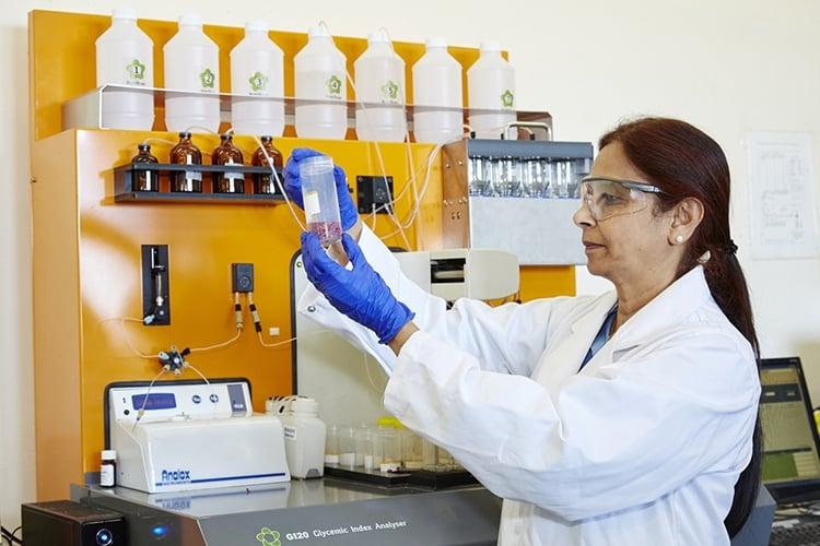 Associate Professor Jayashree Arcot discovered a novel way to turn banana waste into packaging material.