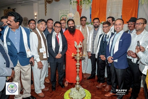 Swami Ramdev launches Vedic Concept School and GHARS. www.Indianlink.com.au