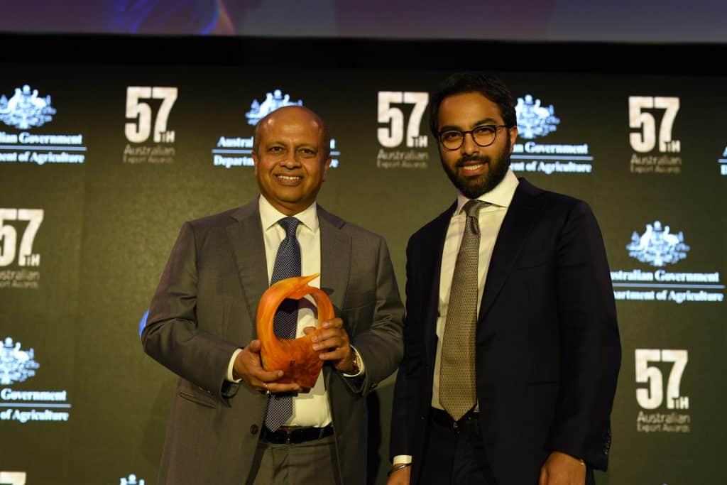 Australian Export Award recipients Abhay and Ishan Sinha