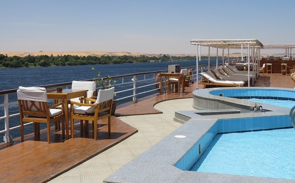 kom ombo.  Cruising down the Nile. www.Indianlink.com.au