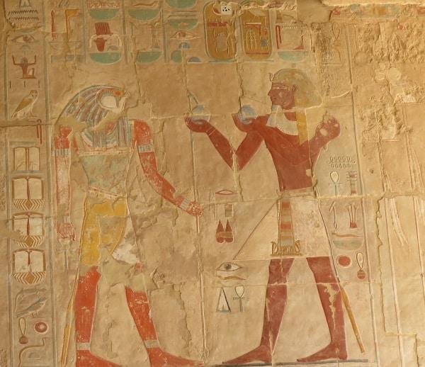 Hieroglyph of Hatsheput