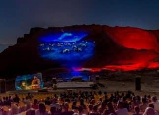 Israel Travel destination turn a screen