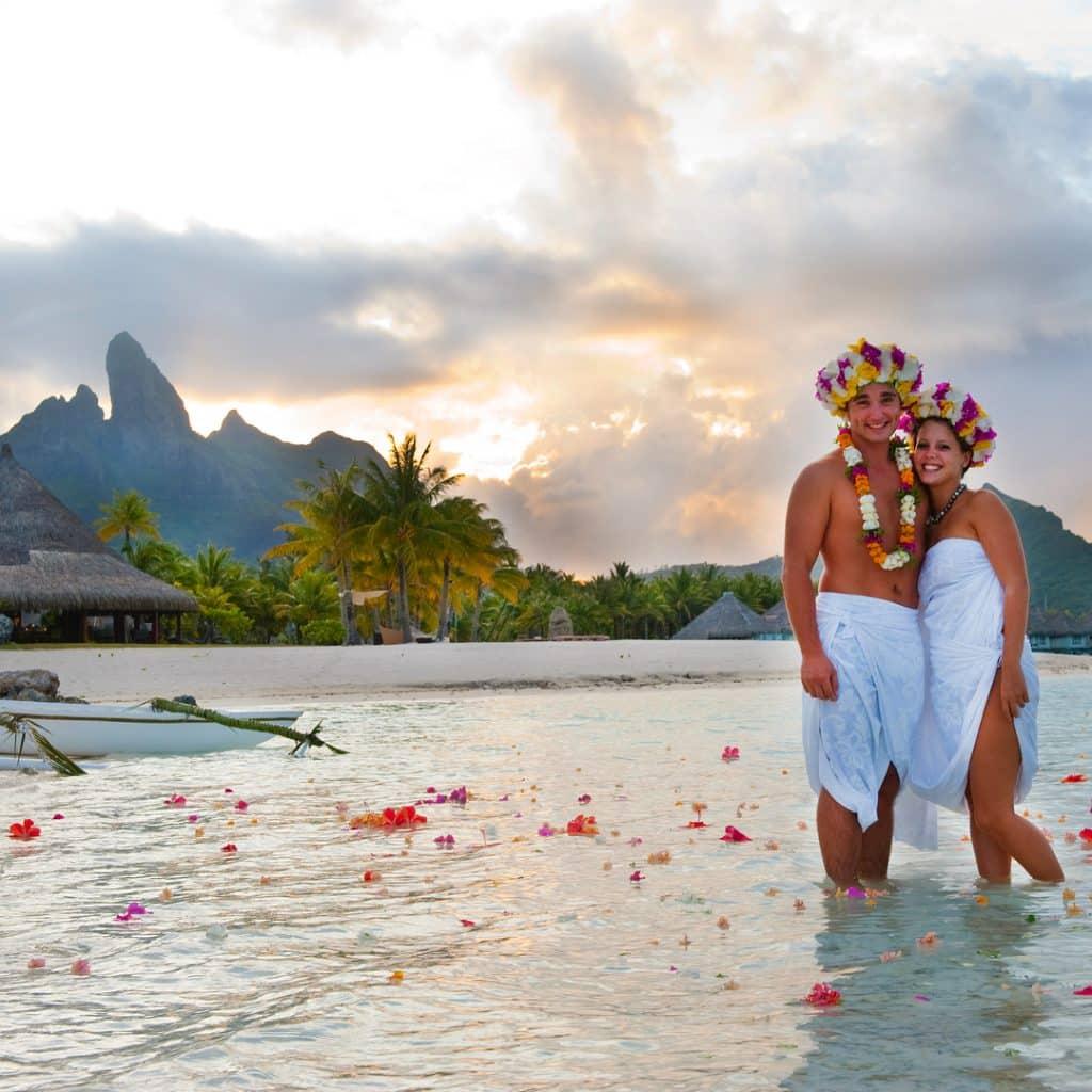 Wedding destination Bora Bora