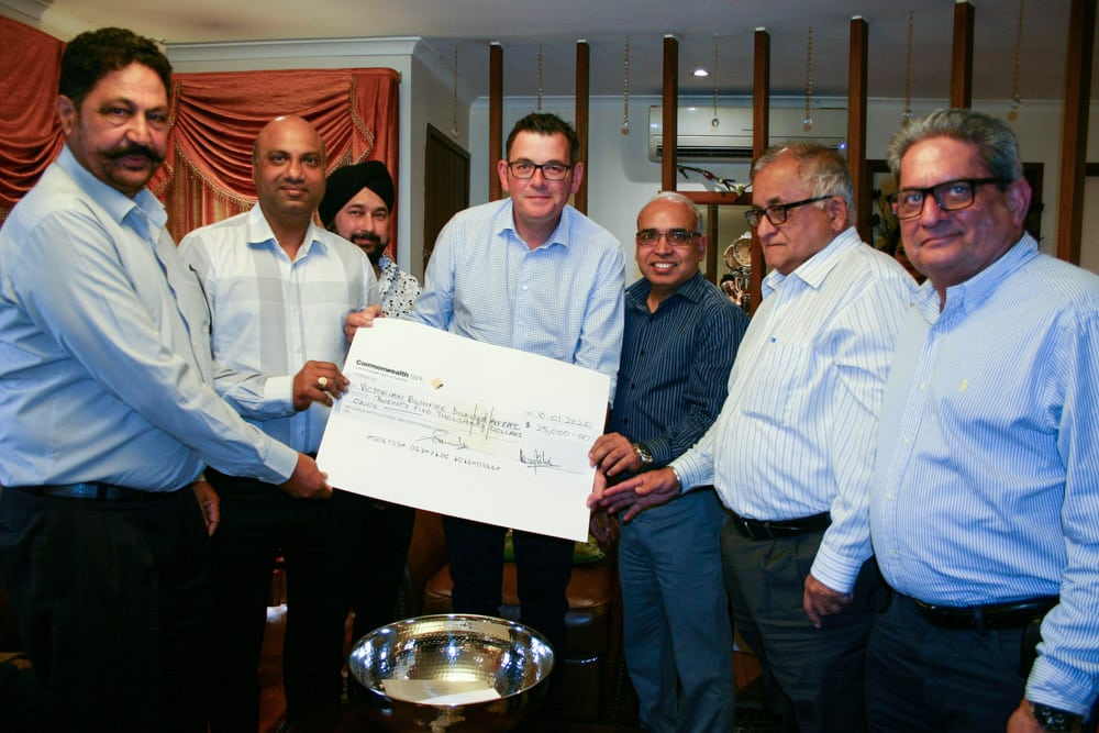 Durga Temple Donated 25K