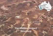 australian meteor crater