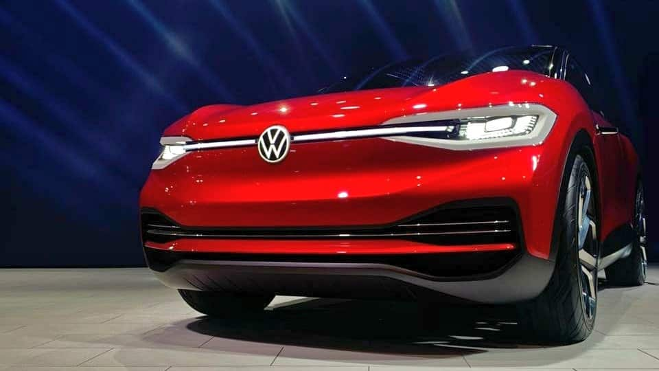 Volkswagen unveils concept EV 'ID CROZZ' at Auto Expo India