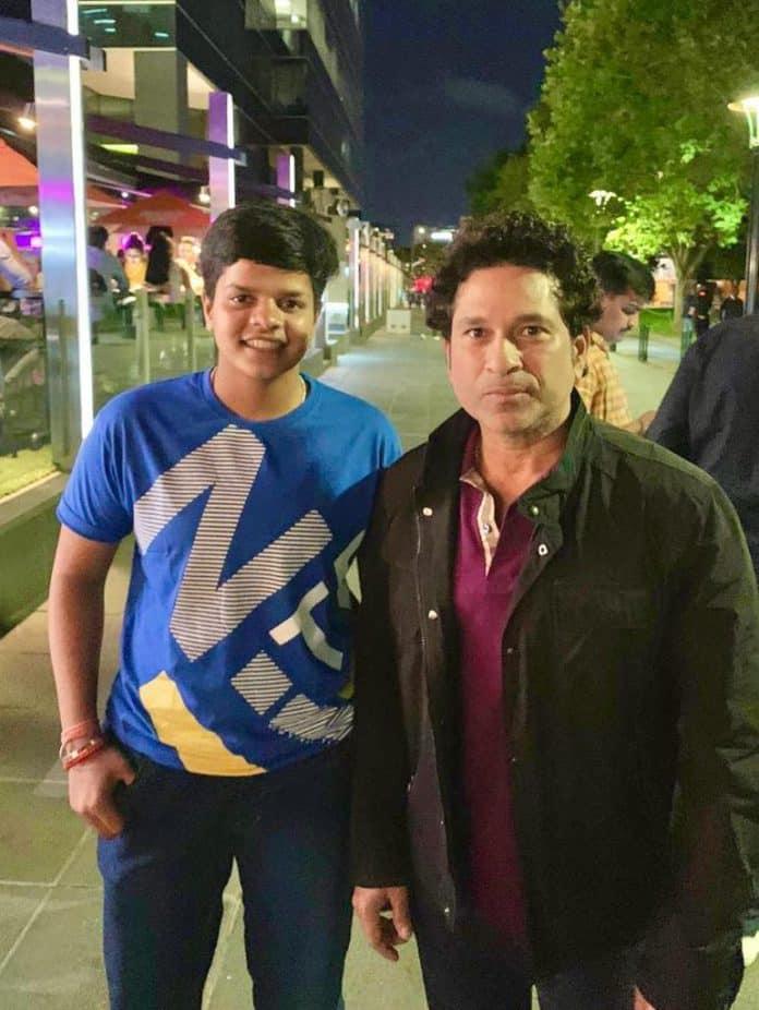 Shafali fulfils childhood dream of meeting Tendulkar