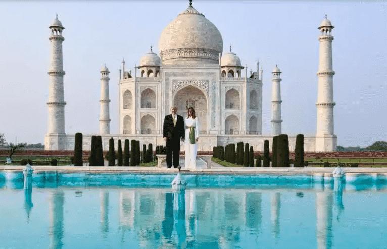 Taj Mahal inspires awe: Trump after his visit
