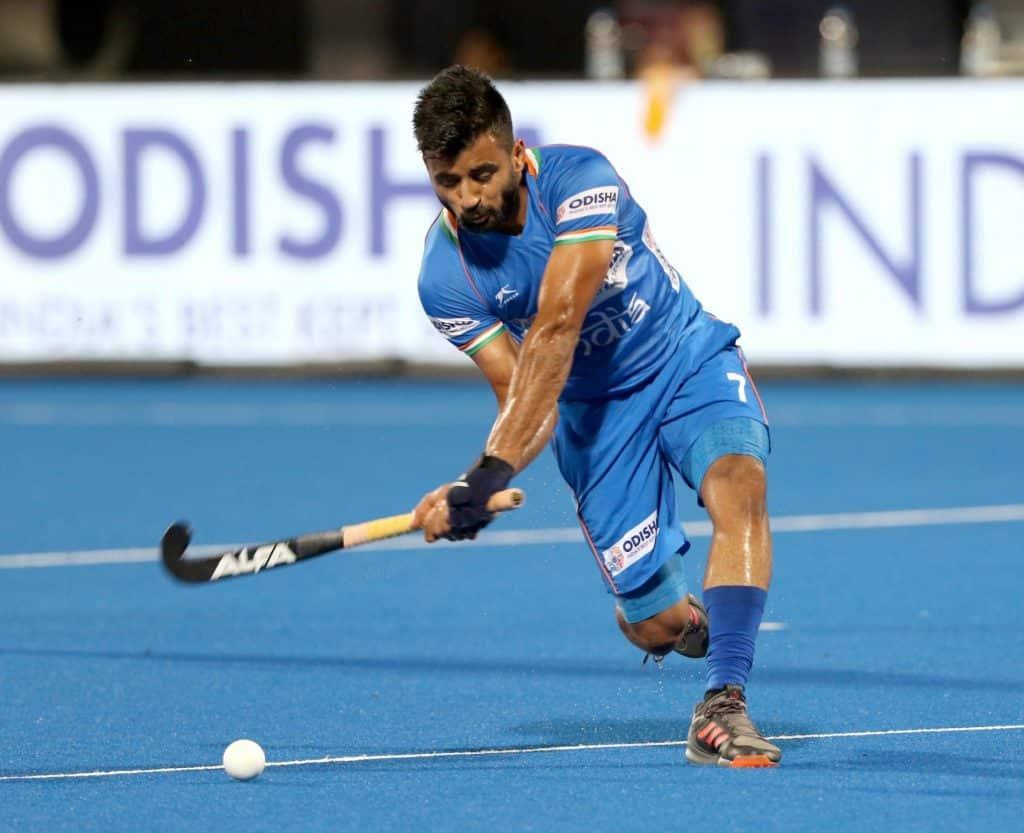 Hockey India congratulates Manpreet on Player of the Year award