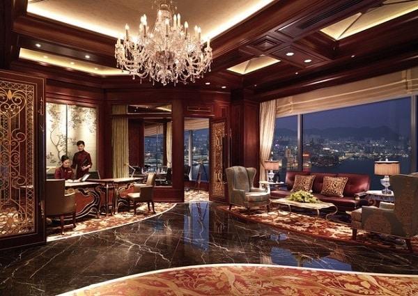 Island Shangri La Hong Kong Lounge