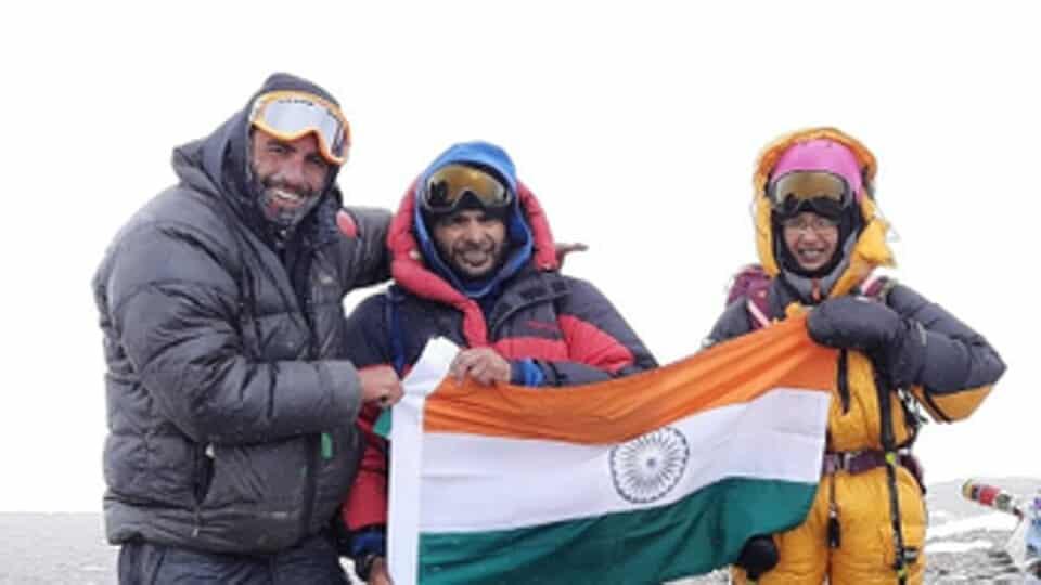 Kaamya Karthikeyan, youngest to scale Mt. Aconcagua