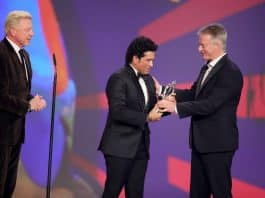Tendulkar wins Laureus Sporting Moment Award for 2011 WC triumph