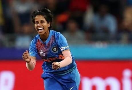 Poonam yadav in the squad of team of the tournment
