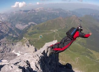 Mayank Nagpal figures in Limca Book of Records for BASE jumping