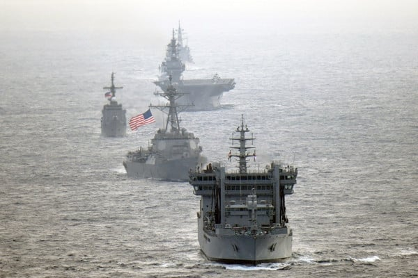 US navy ships get ready to serve as hospitals to handle Covid-19 crisis