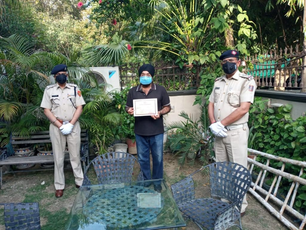 Delhi Police has registered 1,012 cases in different areas of the national capital on the first day of the lockdown implemented