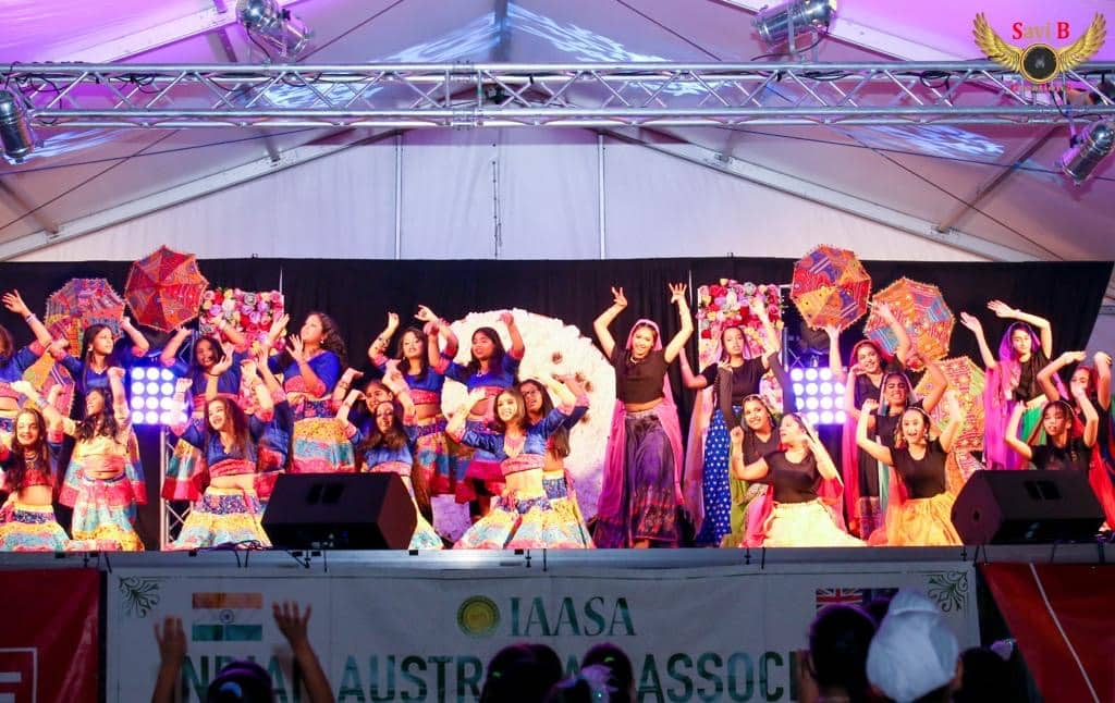 annual Indian Mela in Victoria Square, smack-dab in the heart of Adelaide. Organised over two days by the Indian Australian Association of SA (IAASA) on the first weekend of March
