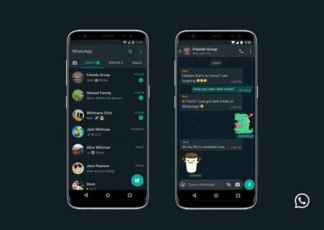 whatsapp darkmode