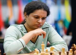Indian chess Grand Master Humpy ranked World No 2