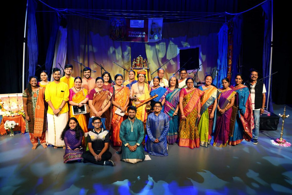 TV Varadarajan musical makes this year's Thyagaraja Aradhana in Adelaide it a special event