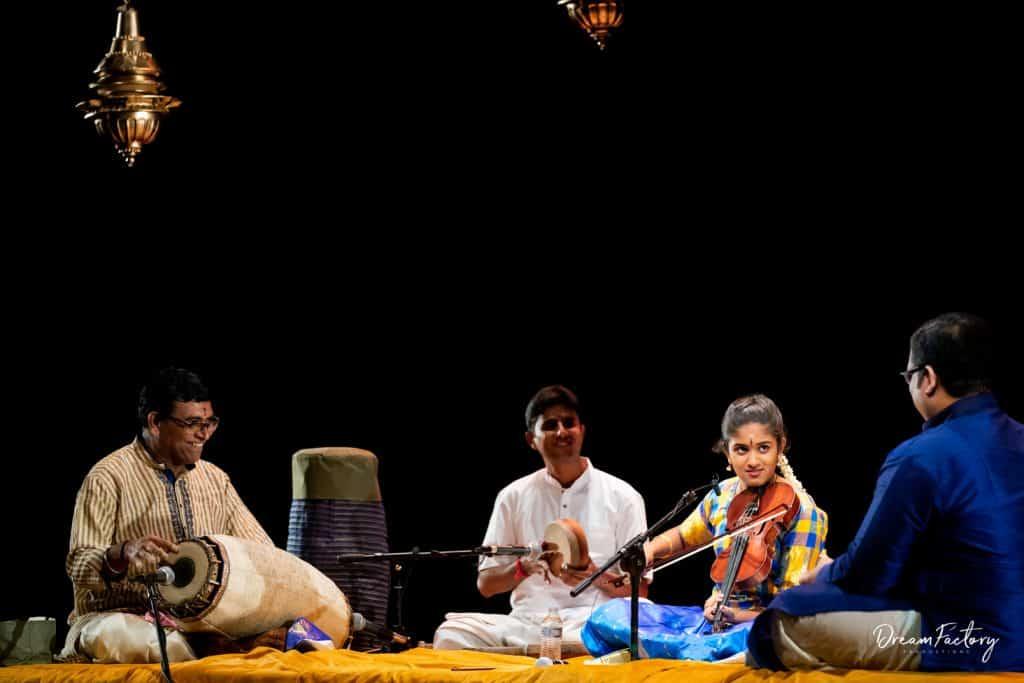 Fifteen-year-old Carnatic violinist presents flawless arangetram