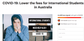 International students: Same tuition for an online semester