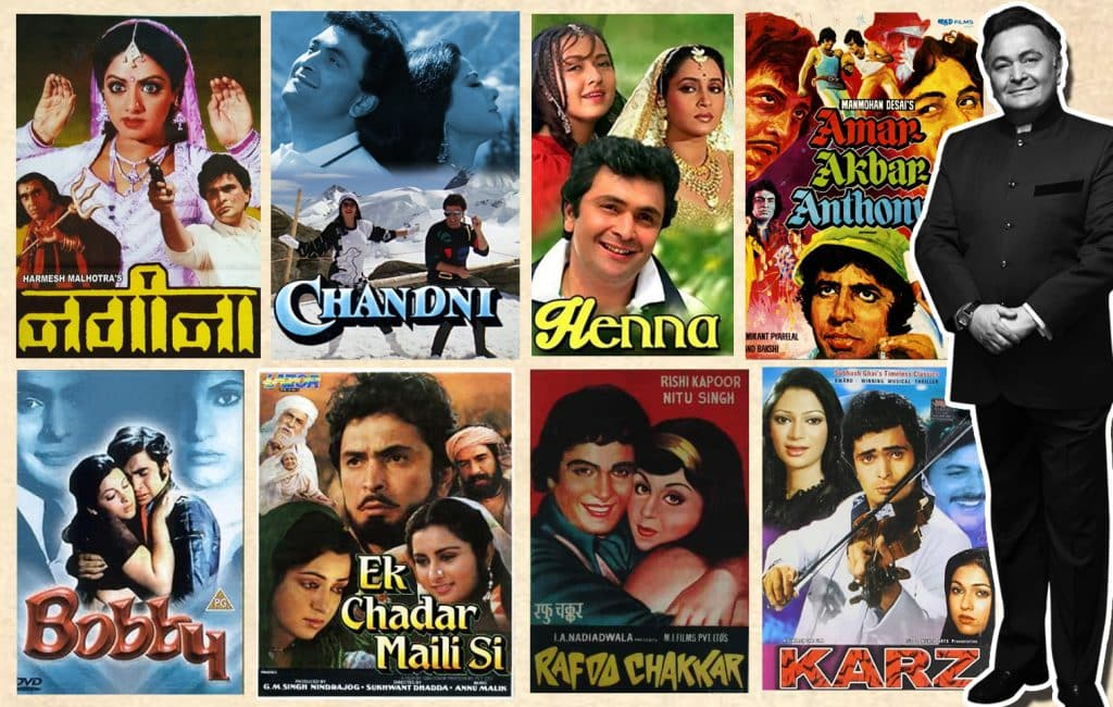 Rishi Kapoor gone, but his films are forever.